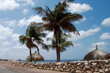 Seafront In The Peaceful City Klarendijk, Bonaire