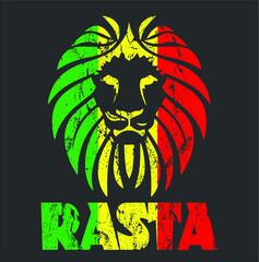 Reggae Clothing Men Women Jamaica Rasta  new design vector