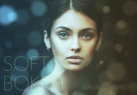 Soft Dual Light Overlay Effect