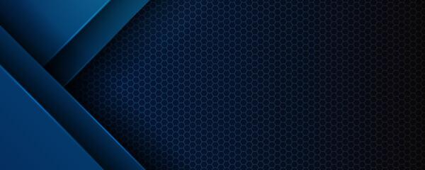 Estores personalizados con paisajes con tu foto Abstract blue light 3D arrow direction on dark grey blank space design modern futuristic technology background vector illustration.
