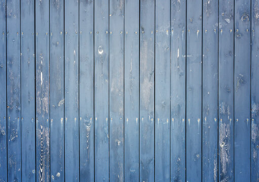 blue wood texture and background