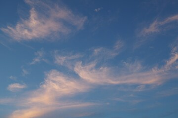 Stimmungsvoller Abendhimmel