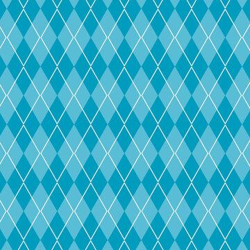 アーガイルの背景 ブルー