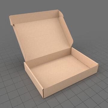 Open corrugated box 2