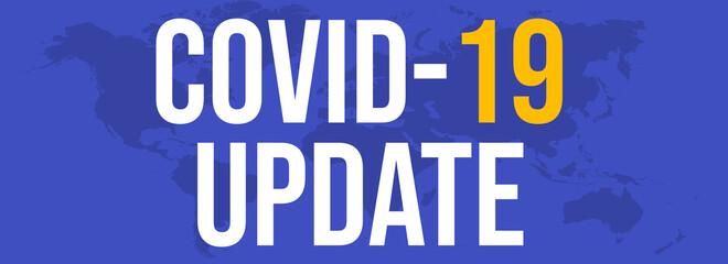 Covid-19 update news. concept of the coronavirus SARS-CoV-2