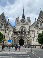 The Royal Courts of Justice, Strand, London