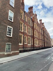 Lincoln's Inn Chambers from Chancery Lane, London