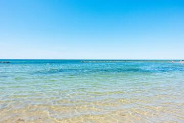 Morze bałtyckie plaża wybrzeże