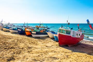 Kutry łodzie rybołówstwo morze bałtyk