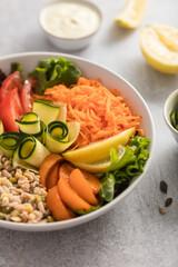 buddha bowl salade de crudités