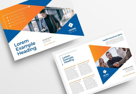 Simple Business Flyer with Modern Corporate Style