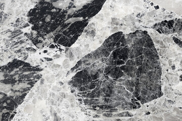 abstract natural marble black and white patterned texture for background