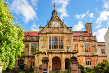 History faculty of Oxford University, Oxford, UK