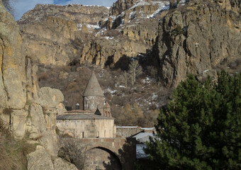 Geghard monastery complex in the Kotayk region of Armenia.