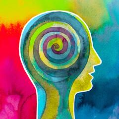 Disegno grafico forza della mente