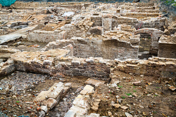 Nuremberg, Germany Historical Archeological Excavation