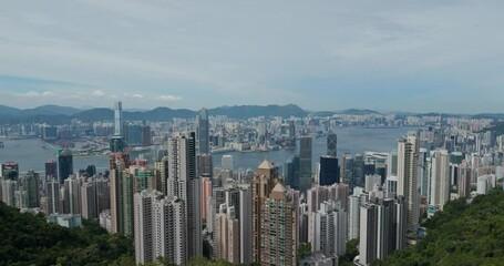 Wall Mural - Hong Kong city