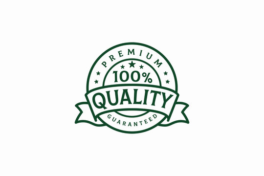 100 quality guaranteed vector template