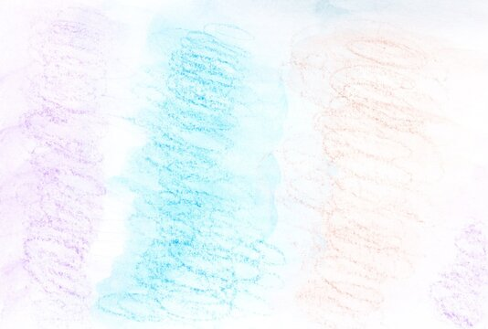 Watercolor background in the colors purple, blue and brown