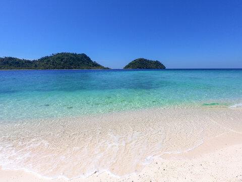 beach Koh Lipe thailand Maldives Of Thailand .concept Summer and travel vacation.