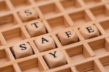 word cloud for stay safe