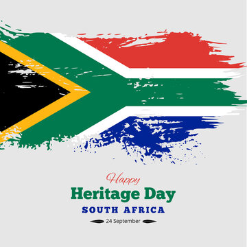 Happy Heritage Day South Africa Background, Vector