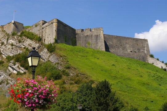 The Charlemont Fortress at Givet, Ardennes, France.