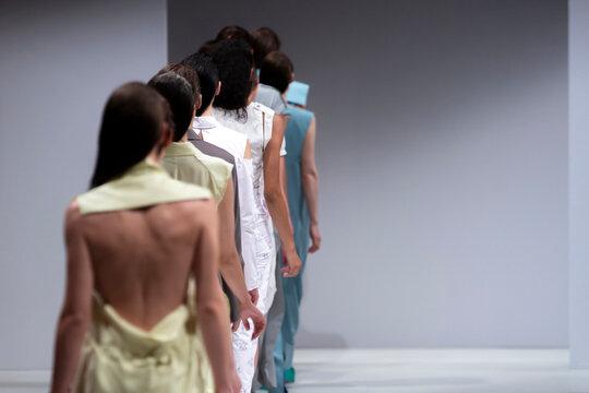 Fashion Show, Catwalk Runway Event, Fashion Week themed photograph