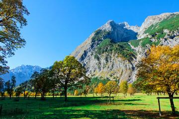 Indian summer in Karwendel