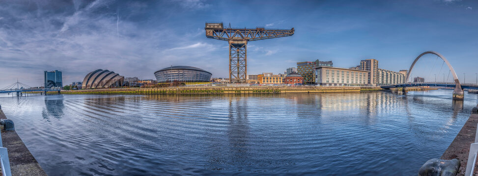 Clydeside Panorama, Glasgow, Scotland