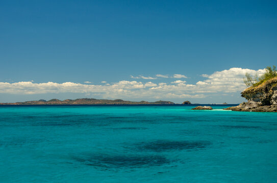 Lagon paradisiaque de l'île de Tsarabanjina, archipel Mitsio - Madagascar