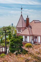 Fototapete - Historical building in Kobe city, Japan