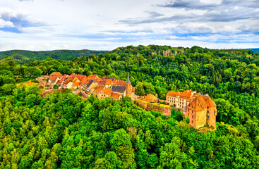 La Petite-Pierre, a medieval fortified village in the Vosges Mountains - Bas-Rhin, France