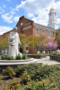 Noah Webster Statue in West Hartford, Connecticut