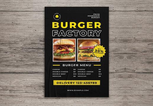 Burger Menu Pack Flyer
