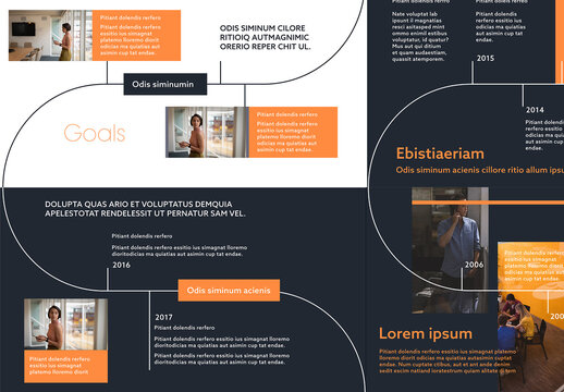 Infographic Timeline Presentation