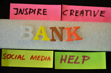 SLOWO BANK - fototapety na wymiar