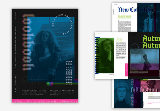 Dark and Moody Brochure Layout