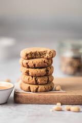 Cookies fait maison au beurre de cacahuète