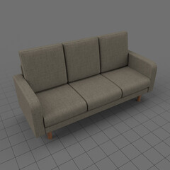 Modern three seater sofa 1