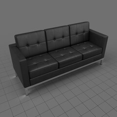 Modern three seater sofa 2