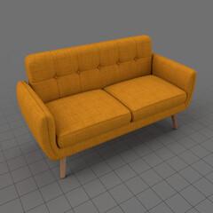 Modern two seater sofa 4
