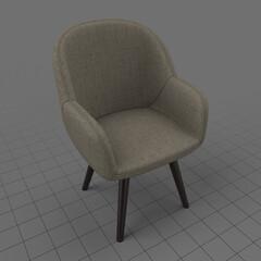 Modern armchair 2