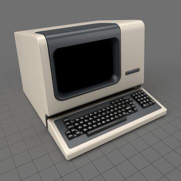 Retro computer terminal