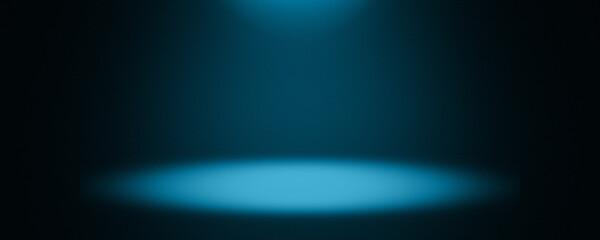 暗いステージにスポットライトの背景グラフィックス素材