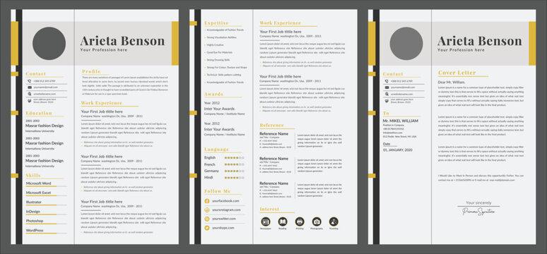 Professional  CV or designer jobs resumes.