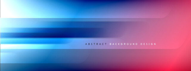 Foto auf Leinwand Texturen Motion concept neon shiny lines on liquid color gradients abstract backgrounds. Dynamic shadows and lights templates for text
