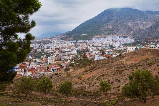 Blue city Chefchaouen, province Tangier-Tetouan, Morocco