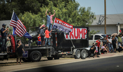 U.S. President Trump holds closed campaign fundraiser in Odessa, Texas