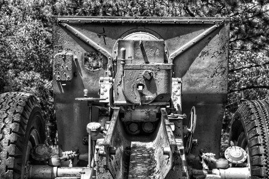old artillery